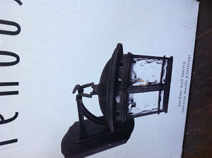 Outdoor wall sconce- new in box