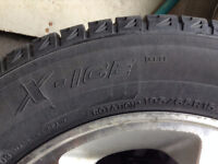 Michelin X-Ice 195/65R15 with Honda OEM rims