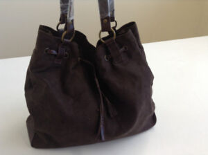 Suede Hobo Bag – BRAND NEW, STILL WRAPPED
