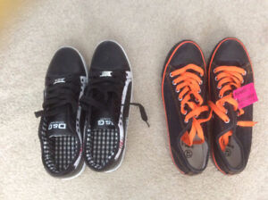 NEW MENS SHOES--SIMILAR TO CONVERSE& D&G