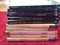 Law revision guides/ Law books