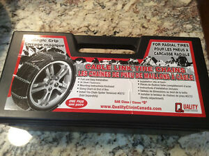 Car Tire Chains.  Never Been out of the Box