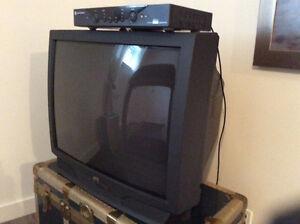 TV et décodeur analogique