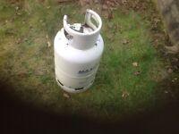 Gas bottle, empty