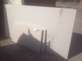 Plasterboard insulated