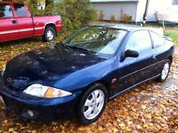 2001 Chevrolet Cavalier Z24 Coupe (2 door) with Safety