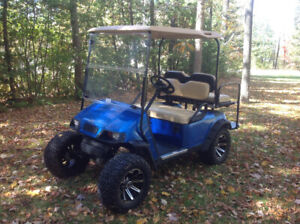 CUSTOM EZGO ELECTRIC GOLF CART -- EXCELLENT CONDITION