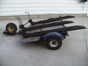 Three Place Motorcycle Trailer