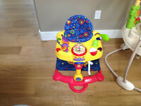 Fisher Price take-a-long hop and pop fold and go