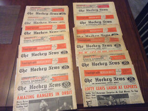 1966 The Hockey News 13 issues