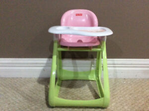 Fisher Price doll high chair