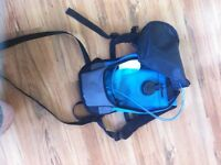 Hiking bag and water bladder