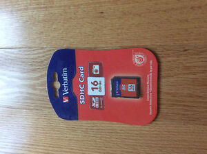 VERBATIM SDHC CARD 16 GB