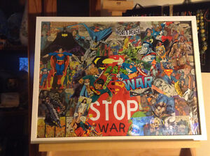 Comic Original Collage by Christine Masalska
