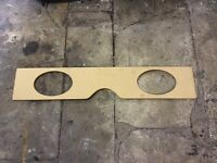 Classic mini under rear seat 6x9 speaker bracket £20