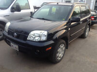 2006 Nissan X-trail Se 4x4 with 2wd option good MVI extra clean