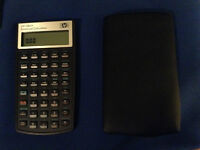 HP hp10b11+ financial calculator - comes with black case