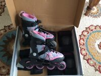 Patin a roue K2 skate + protection