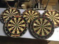 5 dart boards job lot