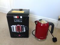 Kenwood cordless Mix kettle, red