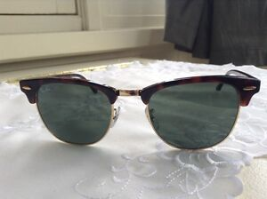 Ray-Ban Clubmaster w0366 51-21 Tortoise