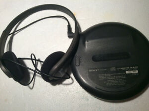 Sony Walkman G-Protection CD-R/RW Player D-EJ100 - Good