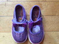 New Little girls Sophia sparkly shoes size 8
