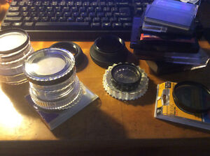 camera filters and lens hoods