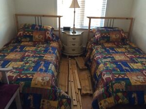 2 lits simples - 2 single beds