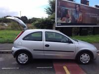 Vauxhall/Opel Corsa 1.0 2004MY Life 2 lady owners .mot 30 aug 2017 2 keys