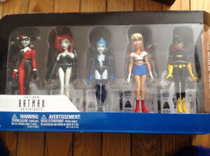 New Batman Adventures DC Collectibles Girls Night Our set