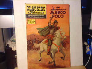 Classics Illustrated No. 27 Marco Polo Jan. 1946