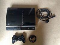 PlayStation 3 and several games