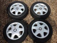 """Vauxhall 4 stud 15"""" alloys"""