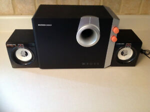 Speakers ordinateur Bazooka Gold