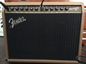 Acoustic guitar amplifier Fender Acoustasonic 90