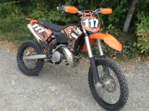 2009 KTM 300 XC fore sale