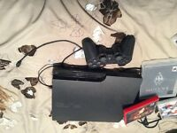 PS 3 Console incluses with games