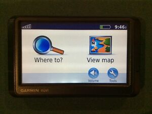 GARMIN NÜVI GPS NAVIGATION UNIT WITH 2015 MAPS