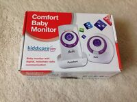 Baby monitor. Kiddicare. Boxed.