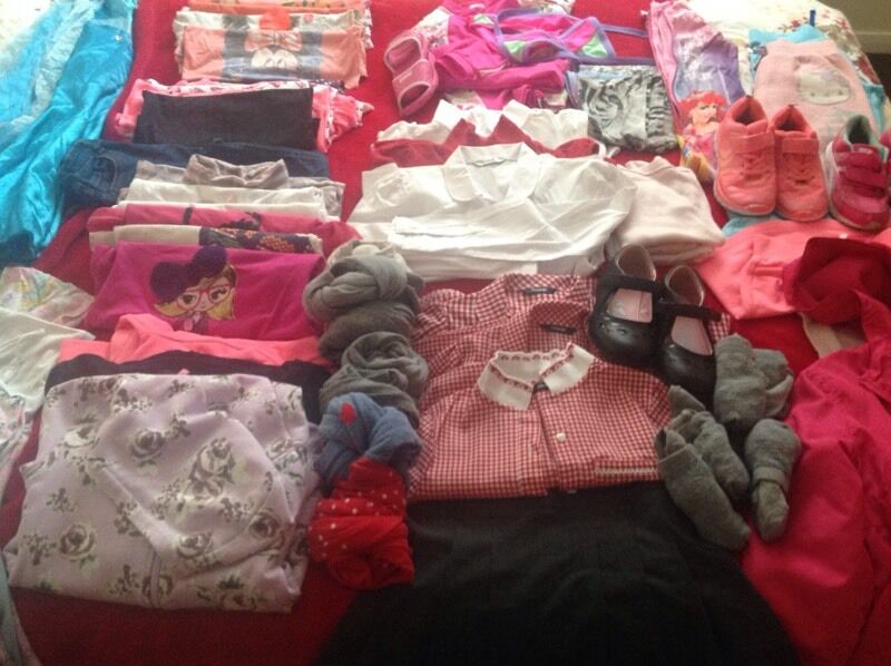 Clothes for girl 6-8 years