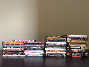 DVD HD DVD movie collection mint condition