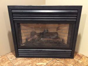 CONTINENTAL PROPANE FIREPLACE