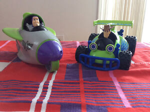 2009 TOY STORY 3 ACTION WOODY AND BUZZ LIGHTYEAR ACTION VEHICULE Gatineau Ottawa / Gatineau Area image 2