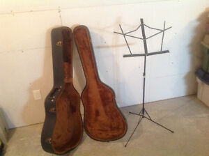 Case and music stand