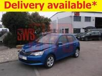 2018 Skoda Fabia SE TSi 1.0 DAMAGED REPAIRABLE SALVAGE