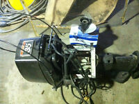 Johnson 35 HP electric start with remote