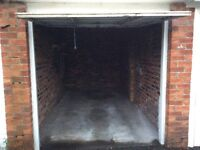 Tenant wanted for a cracking garage