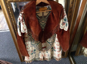 Indian Coat, handcrafted by High Springs Saddlery, Havelock, Ont