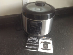 Aroma professional rice cooker, steamer, slow cooker